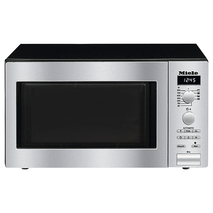 Miele M6012SC Freestanding Microwave Oven with Automatic Programmes & Grill Function