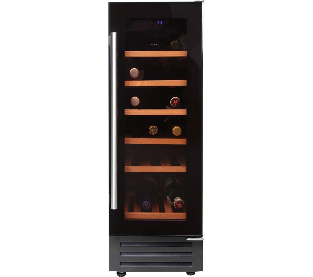 GDHA 300BLKWC 444443282 30cm 18 Bottle Wine Cooler - Black
