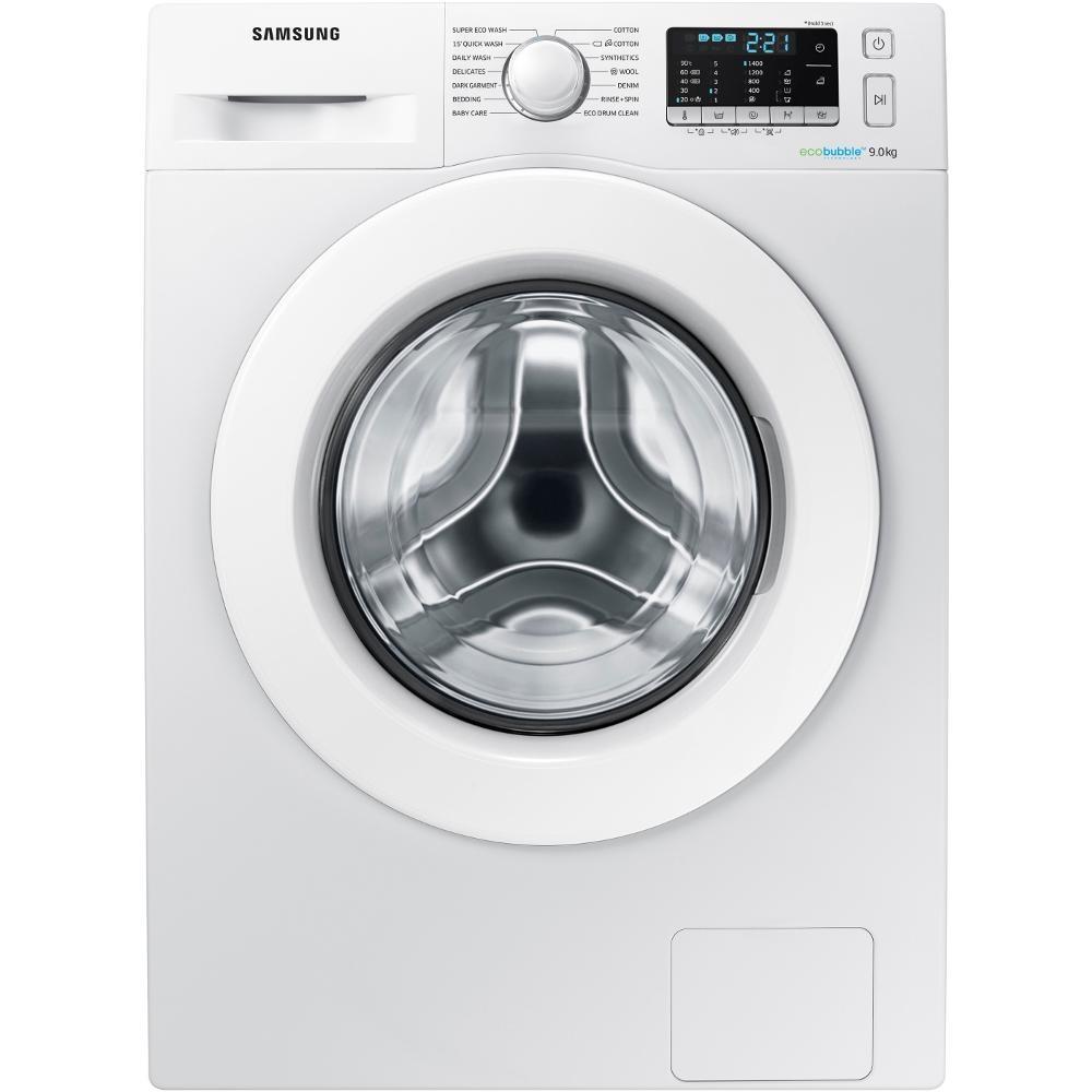 Samsung WW90J5455MW 9kg Washing Machine With Ecobubble Technology