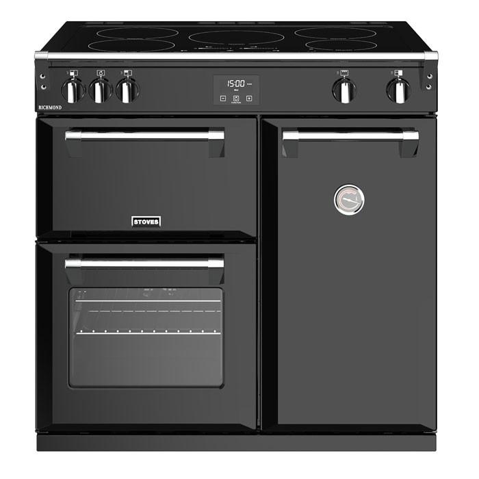 Stoves Richmond RCHS900EiBK 90cm Electric Induction Range Cooker - Black