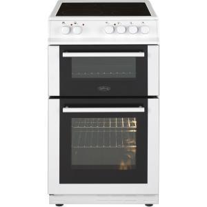 Belling FS50EDOFCWHI 50cm Double Oven Electric Cooker - White