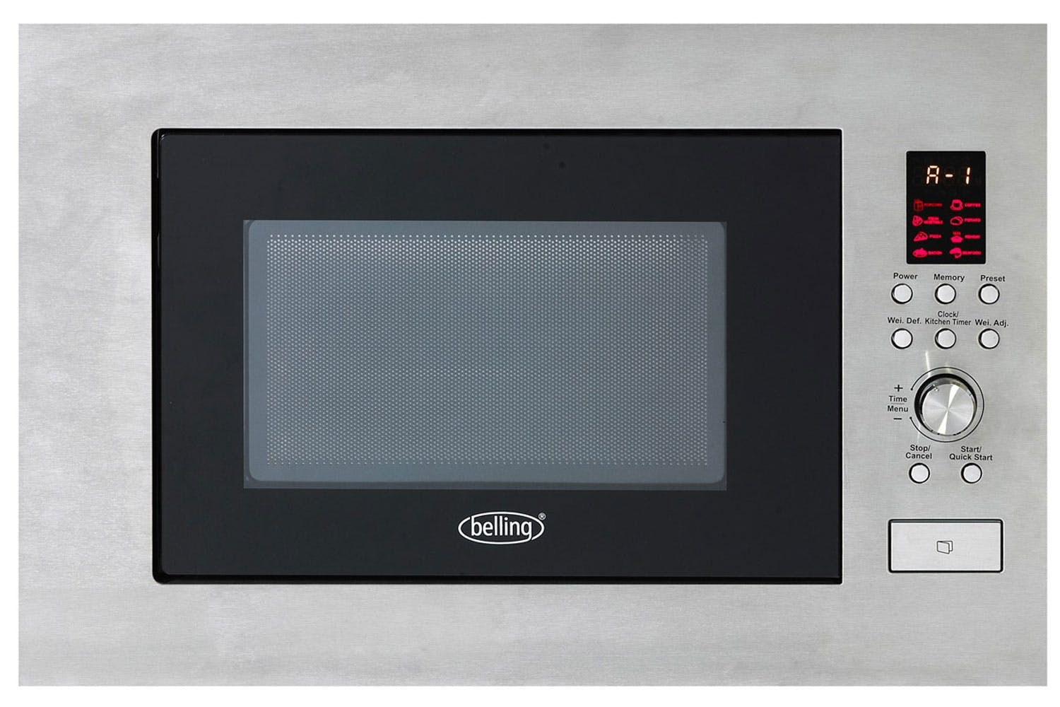 Belling BIM60STA Built In Microwave Stainless Steel *NI & ROI ONLY*