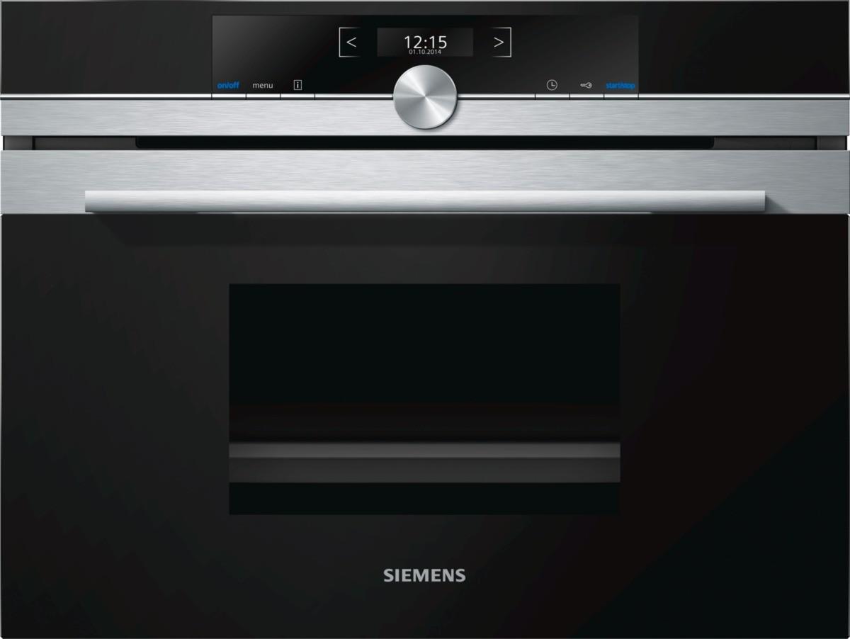 Siemens CD634GBS1B Built-in Steam Oven-Stainless Steel