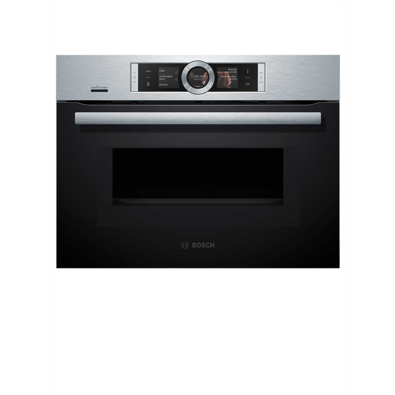 Bosch Serie 8 CMG676BS6B Built In Combination Microwave Oven