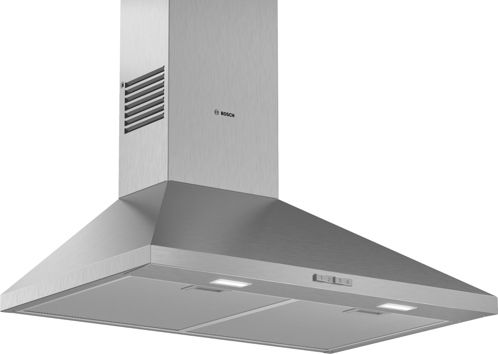 Bosch  Serie   2 DWP74BC50B 75cm Wall Mounted Cooker Hood Stainless Steel