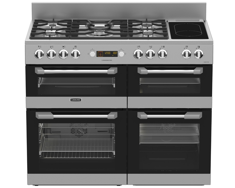 Leisure CS110F722X 110cm Cuisinemaster Dual Fuel Range Cooker-Stainless Steel