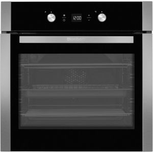 Blomberg OEN9302X Built In Fanned Programmable Electric Single Oven-Stainless Steel