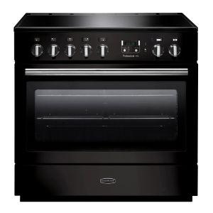 Rangemaster PROP90FXEIGB/C Professional Plus FX 90 Electric Induction Range Cooker Black