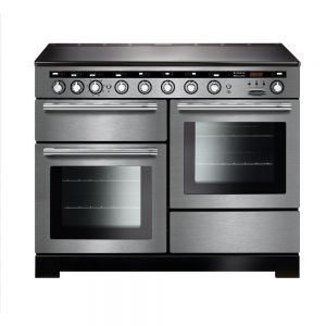 Rangemaster EDL110EISS/C ENCORE Deluxe Electric Induction 110 Range Cooker Stainless Steel