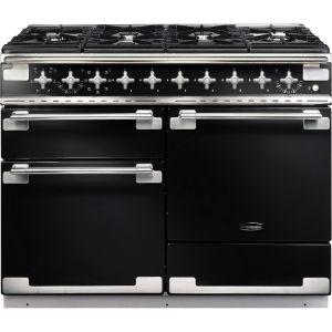 Rangemaster ELS110DFFGB Elise 110cm Dual Fuel Range Cooker Black