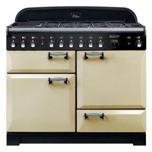 Rangemaster ELA110DFFCR ELAN Deluxe 110cm Dual Fuel Range Cooker Cream