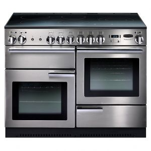 Rangemaster PROP110EISS/C Professional Plus Electric Induction 110cm Range Cooker Stainless Steel