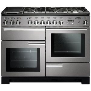 Rangemaster PDL110DFFSS/C Professional Deluxe Dual Fuel 110 Range Cooker Stainless Steel