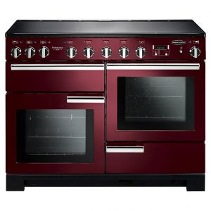 Rangemaster PDL110EICY/C Professional Deluxe 110 Induction Range Cooker Cranberry Chrome