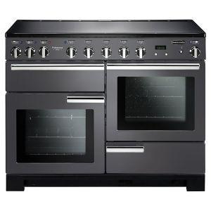 Rangemaster PDL110EISL/C Professional Deluxe Induction 110 Range Cooker Slate Chrome