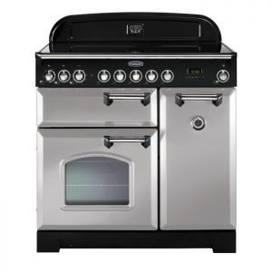 Rangemaster CDL90EIRP/C 90cm Classic Deluxe Electric Induction Royal Pearl Range Cooker