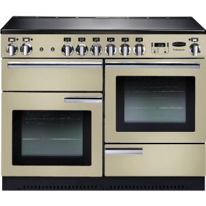 Rangemaster PROP110EICR/C Professional Plus Electric Induction 110 Range Cooker Cream Chrome