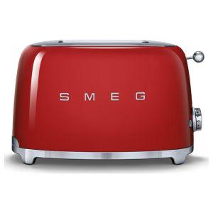 Smeg TSF01RDUK 50's Retro 2 Slice Toaster