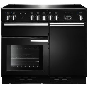Rangemaster PROP100EIGB/C Professional Plus 100cm Electric Induction Range Cooker Black