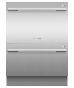 Fisher & Paykel DD60DDFHX9 Integrated Double DishDrawer Dishwasher-Stainless Steel