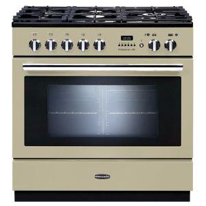 Rangemaster PROP90FXPDFFCR/C Professional FXP 90 Dual Fuel Range Cooker Cream
