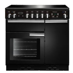 Rangemaster PROP90EIGB/C Professional Plus 90cm Induction Range Cooker Black