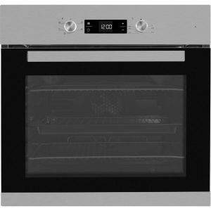 Beko CIF81X Built In Electric Programmable Single Oven - Stainless Steel