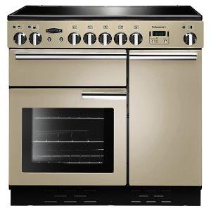 Rangemaster PROP90EICR/C  Professional + 90 Induction Hob Range Cooker, Cream