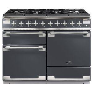 Rangemaster ELS110DFFSL Elise 110 Dual Fuel Range Cooker, Slate
