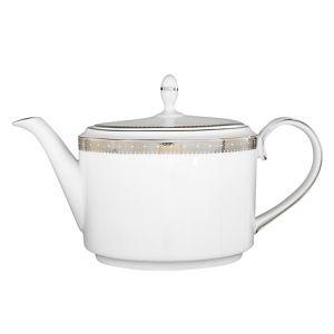 Vera Wang Lace Platinum Tea Pot