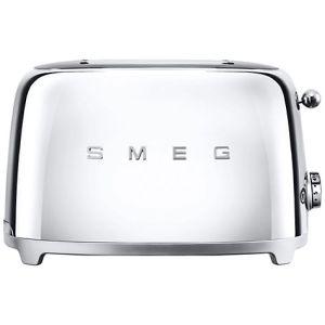 Smeg TSF01SSUK 50's Retro 2 Slice Toaster - Stainless Steel