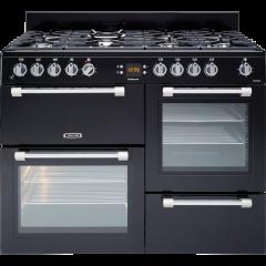 Leisure CK110F232K 110cm Cookmaster Dual Fuel Range Cooker-Black