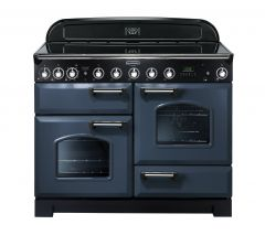 Rangemaster CDL110EISB/C Classic Deluxe 110cm Electric Induction Range Cooker Stone Blue/Chrome