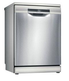 Bosch SMS6EDI02G 60cm Freestanding Dishwasher Silver Inox