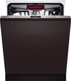 Neff S355HCX27G Built-In Full Size Dishwasher - Steel - 14 Place Settings