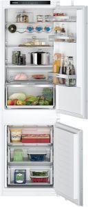 Siemens KI86NVSE0G IQ300 Built-In Fridge-Freezer With Freezer At Bottom Sliding Hing