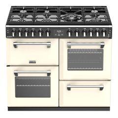 Stoves Richmond RCHS1000DFCC 100cm Dual Fuel Range Cooker Classic - Cream