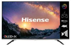 """Hisense 55E76GQTUK  55"""" QLED 4K UHD HDR SMART TV"""