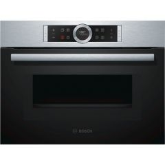Bosch CMG633BS1B Compact Oven with Microwave (Brushed Steel)