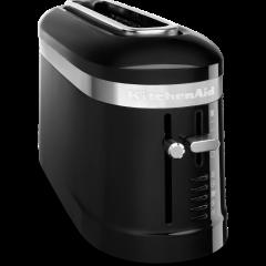 Kitchenaid 5KMT3115BOB Long Slot 2 Slice Toaster - Onyx Black