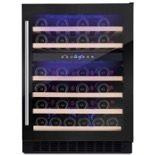 Amica AWC600BL 60cm Freestanding/Under Counter Wine Cooler Black
