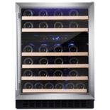 Amica AWC600SS 60cm Freestanding/Under Counter Wine Cooler - Stainless Steel