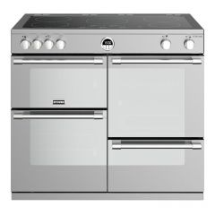 Stoves Sterling STRS1000EiSS 100cm Electric Induction Range Cooker Stainless Steel