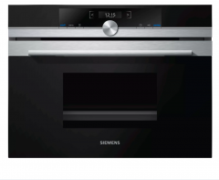 Siemens CD634GAS0B 45cm Compact Steam Oven Stainless Steel