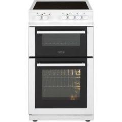 Belling FS50EDOFCWHI 50cm Double Oven Electric Cooker