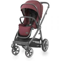 Oyster O3SUBE Oyster 3 Oyster 3 City Grey Stroller Berry