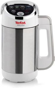 Tefal BL841140 Soup And Smoothie Maker - Stainless Steel/White