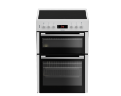 Blomberg HKN65W 60cm Double Oven Electric Cooker with Ceramic Hob-White