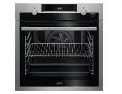 AEG BPS55IE20M Built In Electric SteamBake Single Oven - Stainless Steel