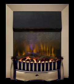 Dimplex BMR20AB Braemar Antique Brass Optiflame 3D Electric Inset Fire